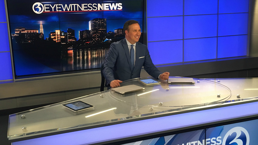 Dennis House Steps Down from WFSB's 11pm Newscast | Hartford
