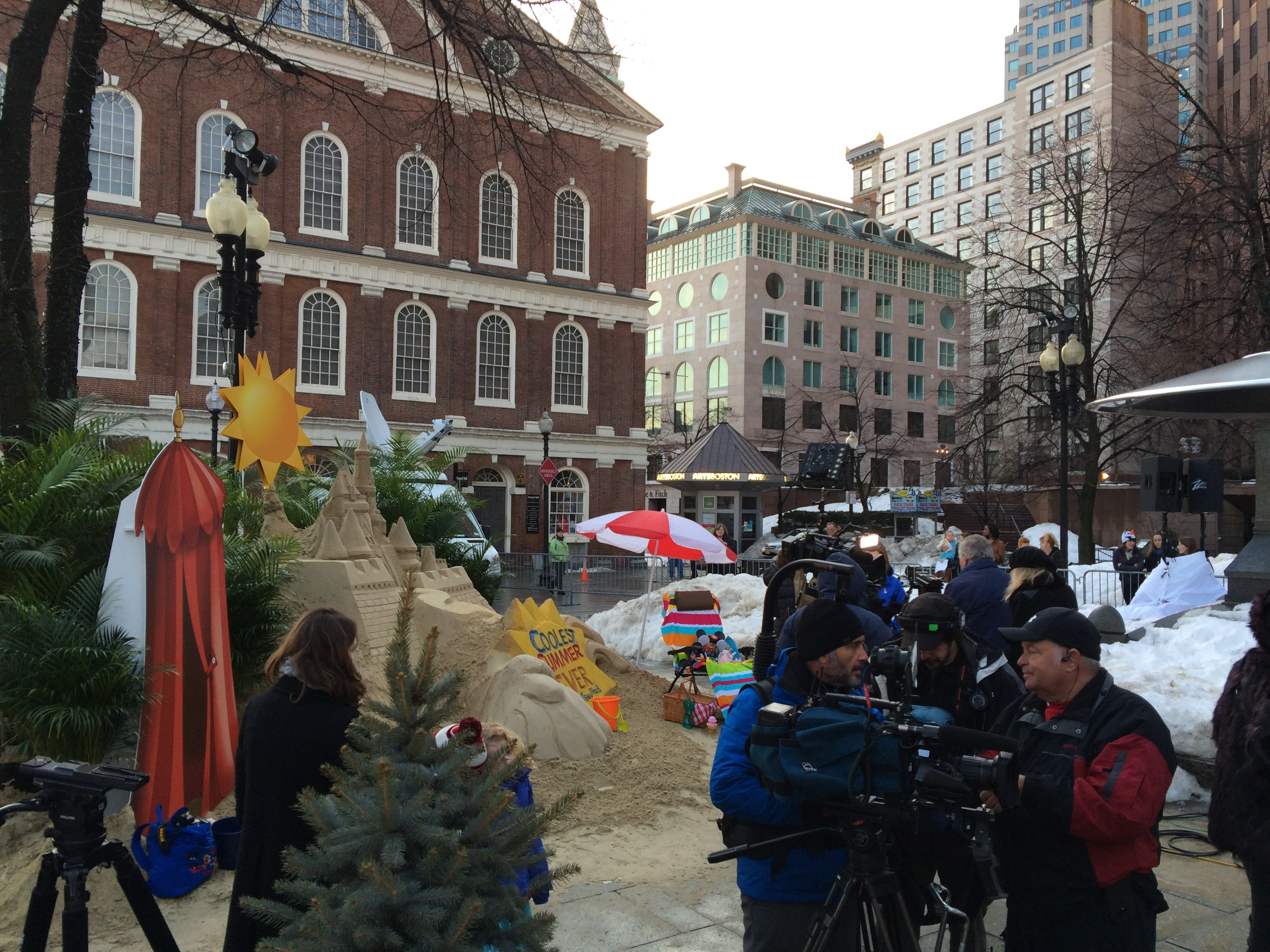 abc s ginger zee gma visit boston newser blog